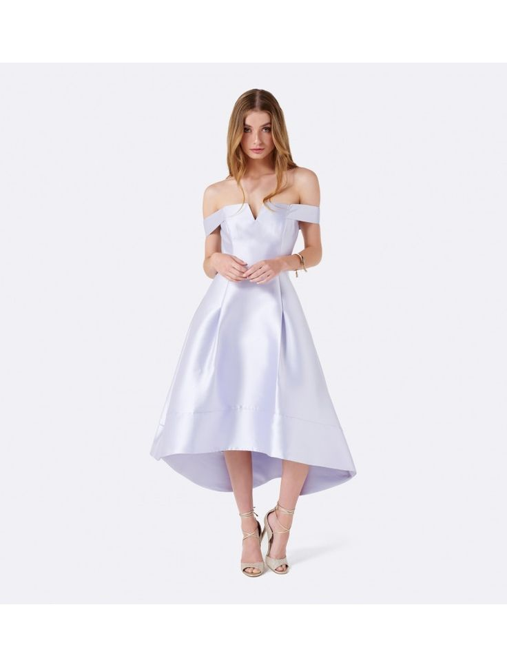 Riverdal, Season 1 Episode 11, Betty Cooper Homecoming Dress | Willow Bardot Hi-Lo Prom dress Evening Haze - Womens Fashion | Forever New