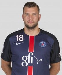 Robert Gunnarsson, Fielder of Paris Saint-Germain Handball.