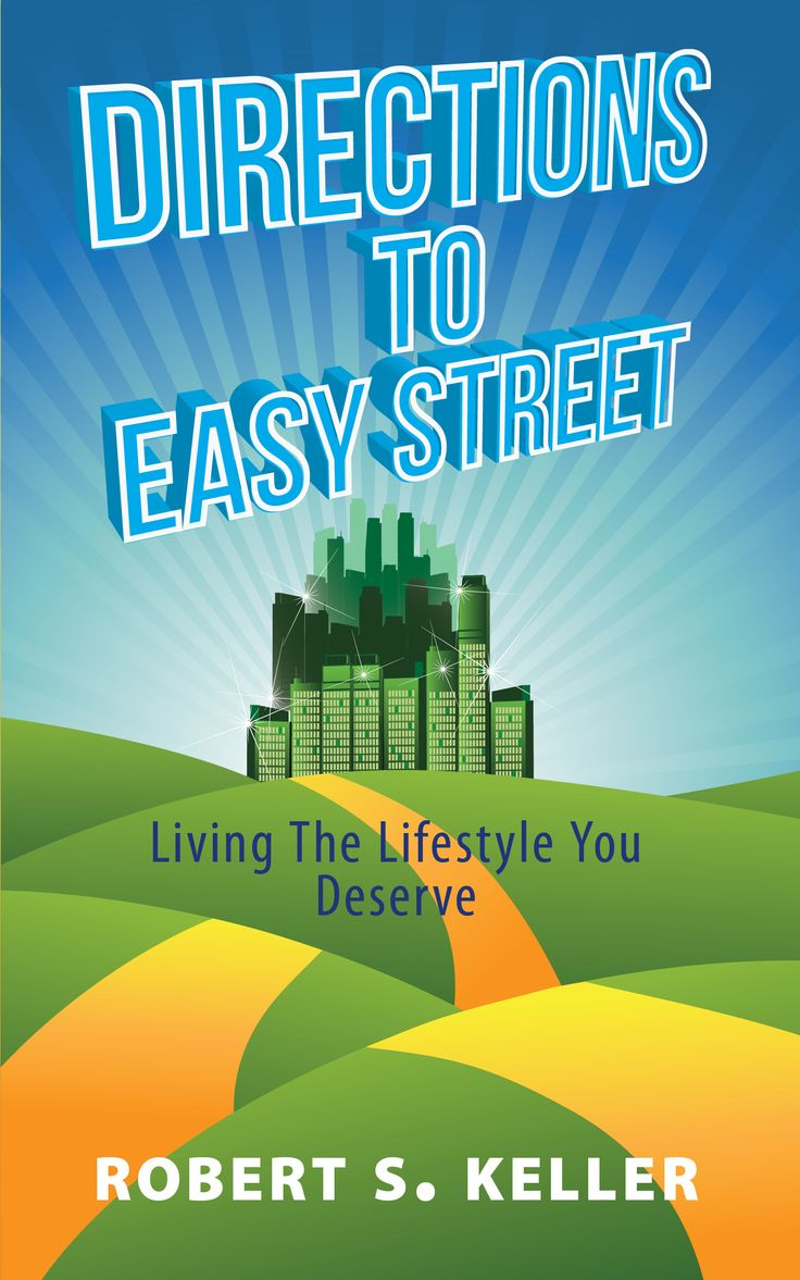 """Finally. A book of contemporary facts called """"DIRECTIONS TO EASY STREET"""" that addresses your concerns about """"LIVING THE LIFESTYLE YOU DESERVE"""" from the financial perspective.   Available now in eBook or paperback format at https://lnkd.in/ecmU-8C"""