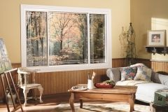 The end vent slider window is the perfect choice for a casement window at an good price. End vent slider windows offer ventilation while preserving the view