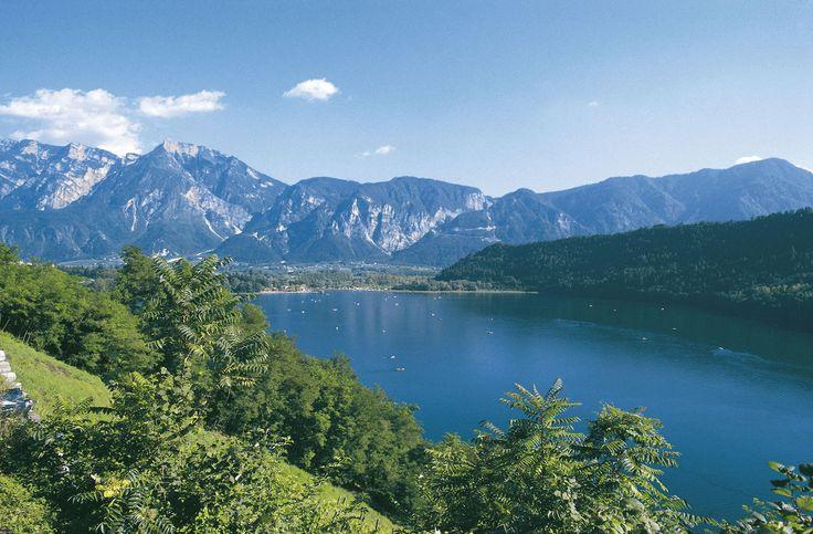 Camping in Noord italie, meer van Levico, fietsen, wandelen, cultuur, sportief en onstappen, gezin, jeugd, animatie, caldonazzo, garda, trentino