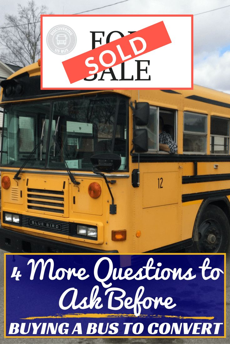 Answer these questions and know where to buy a school bus, stay within your budget, buy a school bus that has the space you need, and prevent costly repairs via @discoveringus9