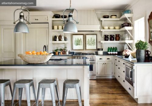 White Country Kitchen to Love! | Content in a Cottage