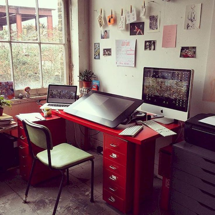 A Dozen Home Workspaces: Top 25+ Best Small Workspace Ideas On Pinterest