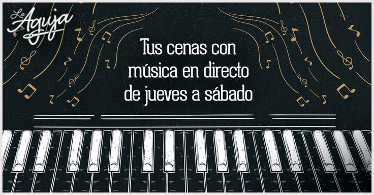 El restaurante La Aguja de Las Tablas te ofrece las mejores cenas románticas en Madrid gracias a la música en directo de su piano.