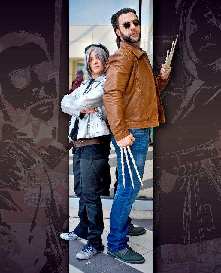 Quick Silver and Wolverine Cosplay _ Romics 2014. Photo / Editing: © Arianna Berti