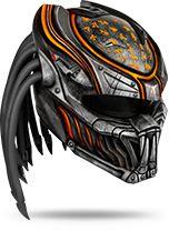 Predator Helmet, different designs  #2!