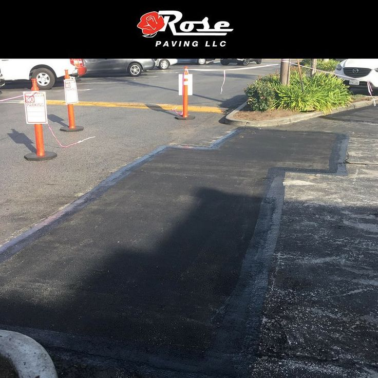 After completing one successful infrared asphalt repair job for this client they knew they could trust us with another. This time the jobsite was a busy downtown retail center. Our team marked off the area of work and completed the job in no time. #infrared #throwbackthursday