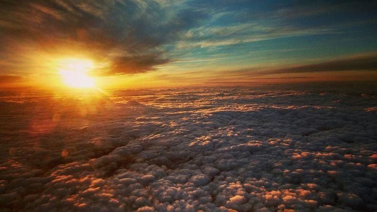 Céu em fogo #skyonfire #sunset