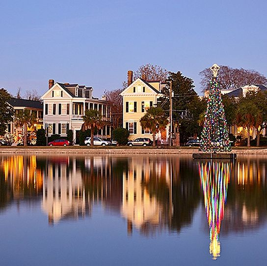 Christmas At The Lake: 69 Best Images About Christmas In Charleston On Pinterest