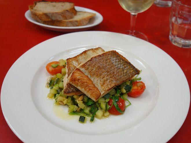 Zürich del 6:Italiensk frokost i Restaurant Markthalle