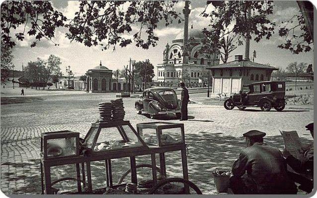 1940-lar Dolmabahçe Meydanı