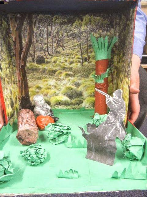 Dioramas for Australian History http://4-5classnews.blogspot.com.au/p/history-diorama-photos.html