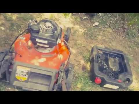 How To Change The Oil in a Husqvarna HU700H Self Propelled