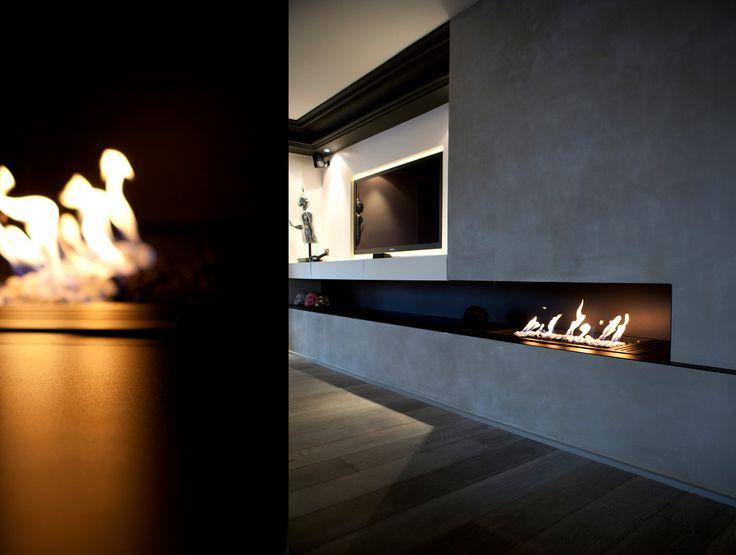 Maison à Neuilly-sur-Seine #house #fireplace #livingroom Agence MOHA