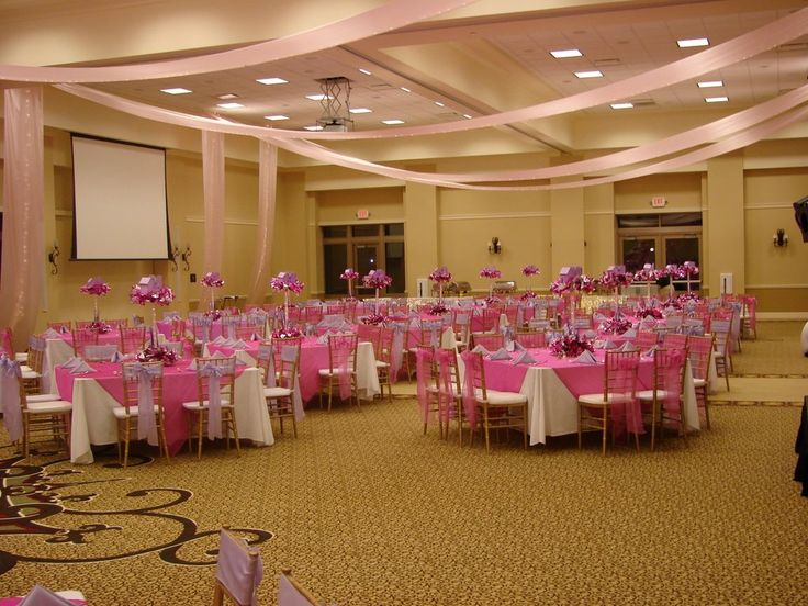sweet 16 party decorations can be more dramatic and lovelier between pink and purple color have the same menu and get more attractive by the ideas of