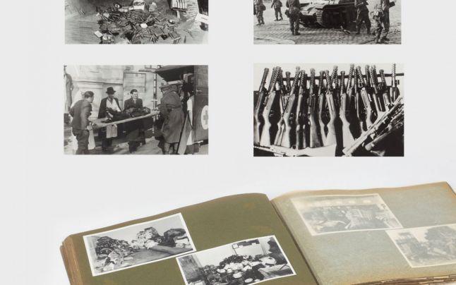 """""""Judaica"""", o colecţie de fotografii rare cu victimele legionarilor, şi certificatulde naştere al lui Steinhardt, scoase la licitaţie la Casa Artmark"""