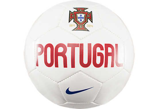 Nike Portugal Supporter Soccer Ball  White with Blue