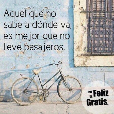 Aquel que no sabe dónde va, es mejor que no lleve pasajeros. http://www.gorditosenlucha.com/