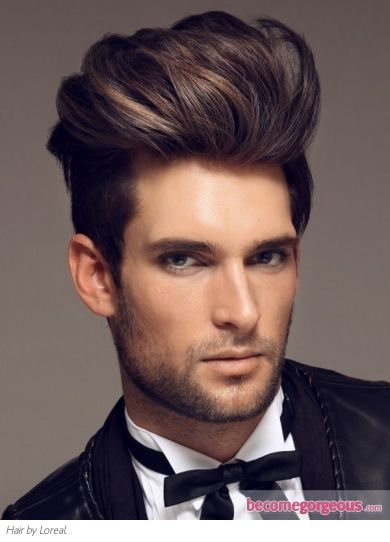 Chic indie hairstyle for men