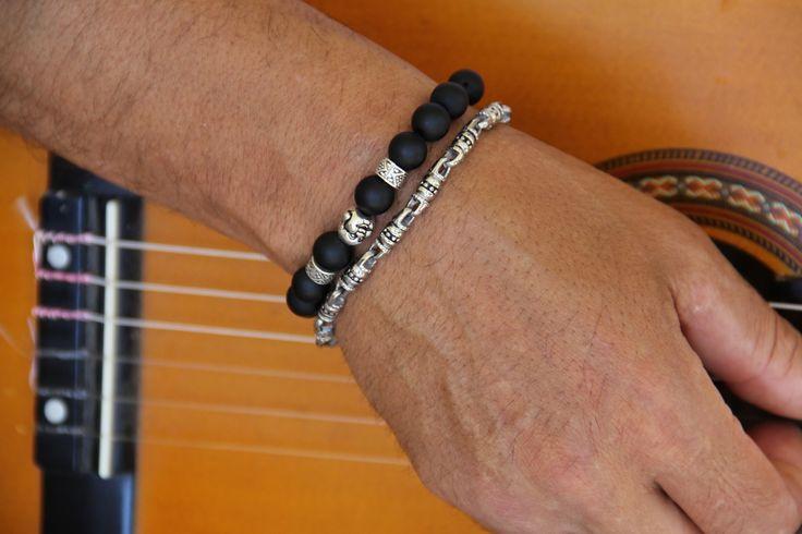 2 bracelets bouddhistes QUALITÉ supérieure : Bijoux pour hommes par made-with-love-in-aiacciu