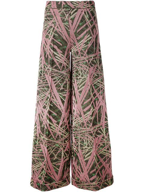 M MISSONI 针织阔腿裤. #mmissoni #cloth #针织阔腿裤