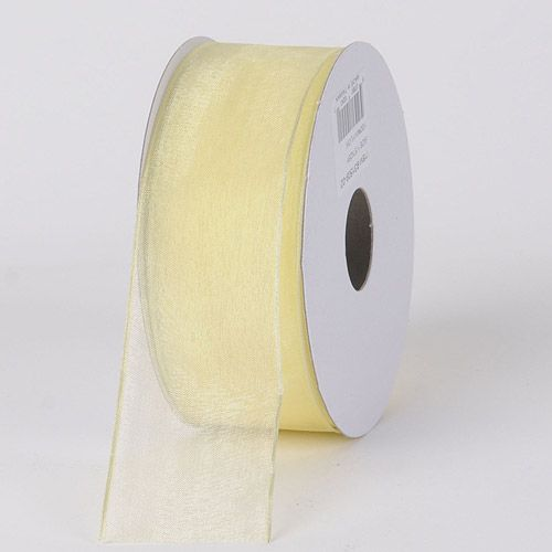 Yellow Colored #Organza #Ribbon Thin Wire Edge 25 Yards 5/8 inch 25 Yards  http://ribbons.cheap/product/yellow-organza-ribbon-thin-wire-edge-25-yards-58-inch-25-yards/