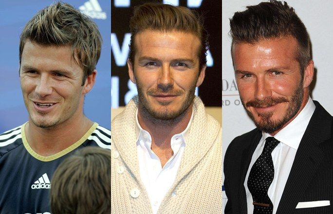 David Beckham with a beard - Hot celebrity men with beards: How do you prefer their look?
