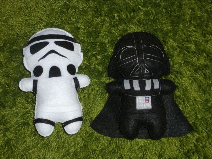 Star Wars Inspired Softie - Doll for Fans of all Ages (Darth Vader, Storm Trooper, Boba Fett, Jawa, Tusken Raider, Lando...and more). $19.95, via Etsy.
