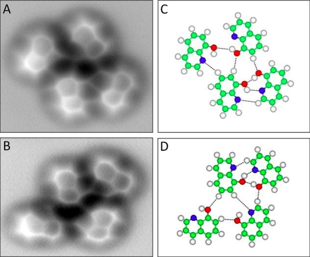See The World's First Images Of Actual Hydrogen Bonds