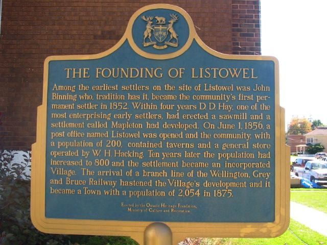 The Founding of Listowel