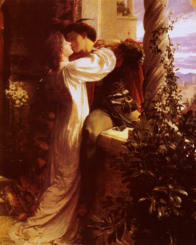 """Romeo and Juliet"" by Frank Bernard Dicksee"