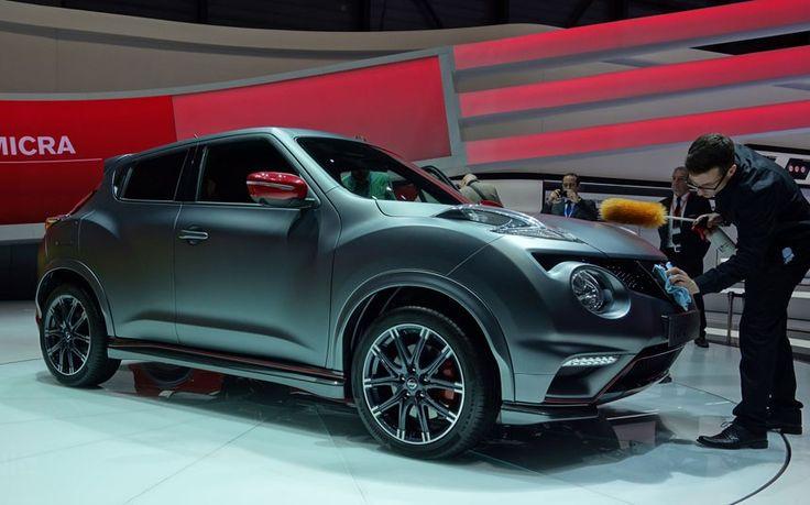 Nissan Juke 2014 at Geneva Motor Show 2014