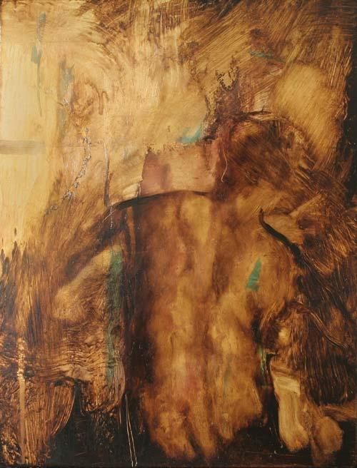 Tomas Watson - Gold Leaf Back Study