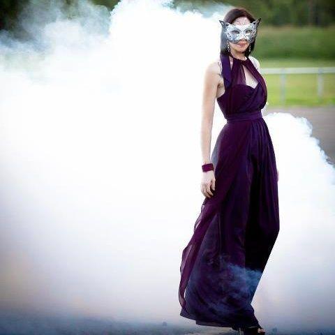 Trash the Dress Style Divorce Photo Shoot