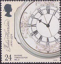 Marine Timekeepers 300th Birth Anniversary of John Harrison (inventor of the marine chronometer). 1993