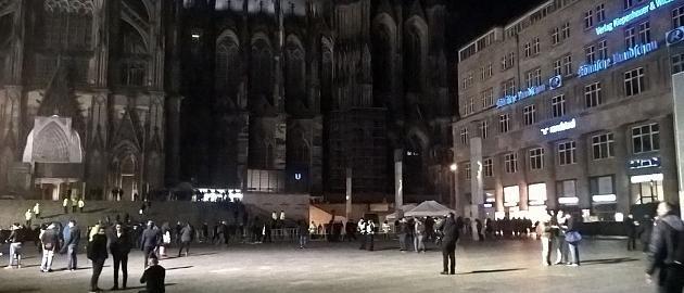 Silvester 16/17 - Domplatte Köln