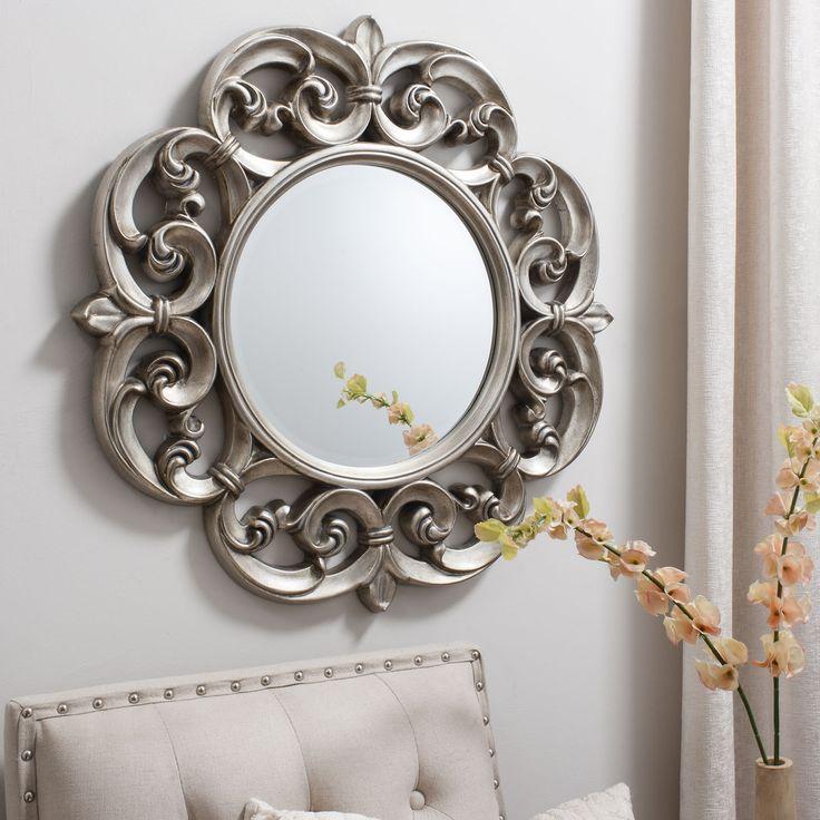 Gallery Westfield Mirror Pewter Achica Mirrors