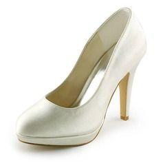 Bröllopsskor - $62.99 - Kvinnor Satäng Stilettklack Stängt Toe Plattform Pumps  http://www.dressfirst.se/Kvinnor-Sataeng-Stilettklack-Staengt-Toe-Plattform-Pumps-047008119-g8119