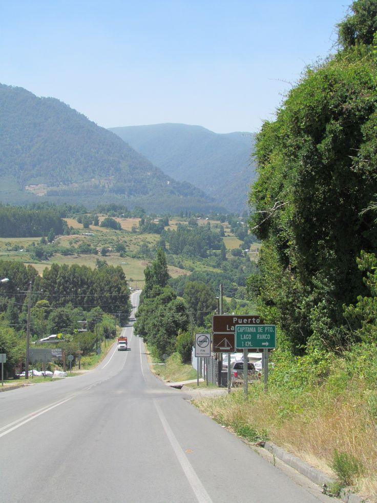 Camino a Llifen, Cuenca del Ranco.