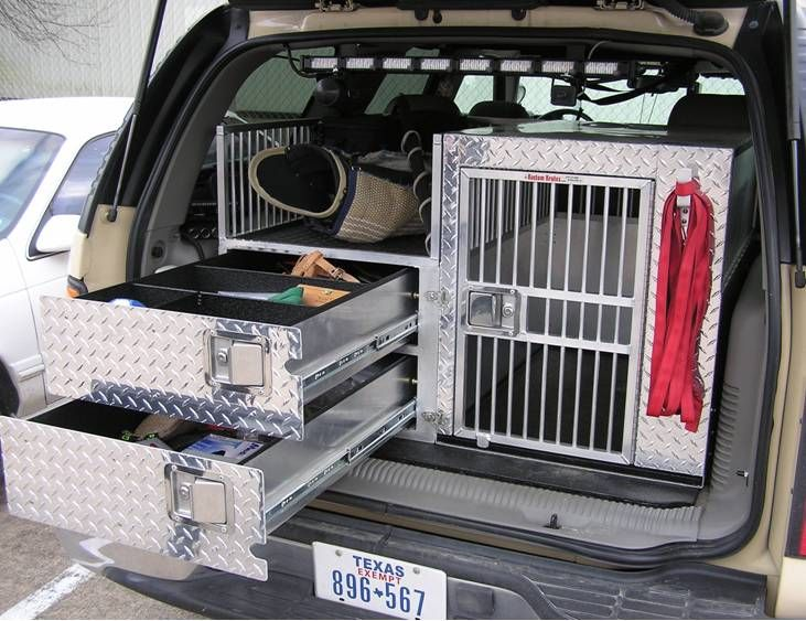 Police K9 Crate Need For Eric S Truck Heavy Duty