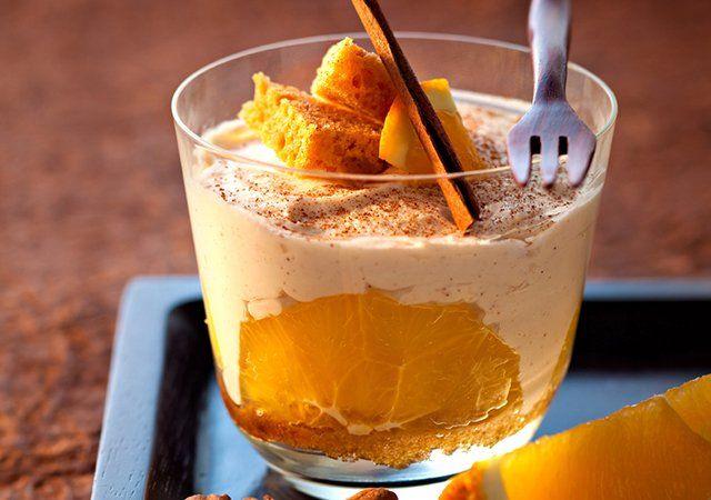 Recette Tiramisu orange cannelle. Plus de recettes ici : http://www.ilgustoitaliano.fr/recettes/i-love-tiramisu