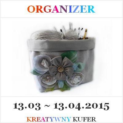 Wyzwanie Tematyczne - Organizer | Kreatywny Kufer