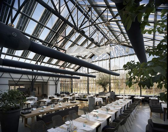 Restaurant De Kas, Amsterdam EAT: Unusual and scenic. Not open on Sundays though. restaurantdekas.nl