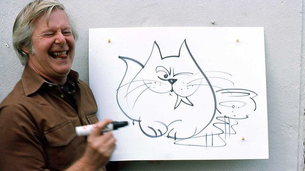 Artist and television presenter Tony Hart