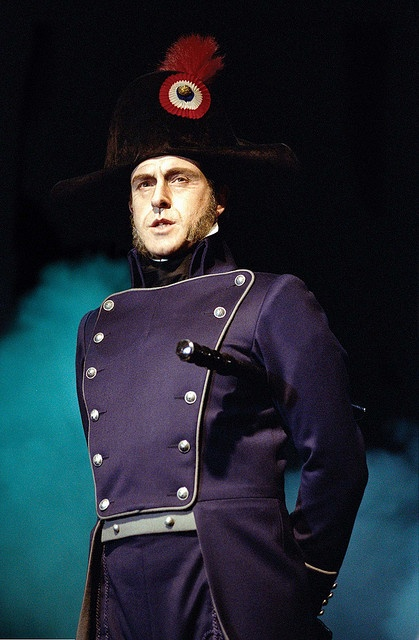 My favorite! | Les Miserables - Earl Carpenter as Javert - Photo credit Michael Le Poer     Trench by birminghamhippo, via Flickr