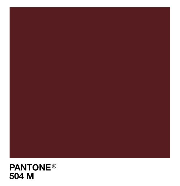 Pantone 504 m oxblood ideas for the house pinterest - Deep burgundy paint color ...