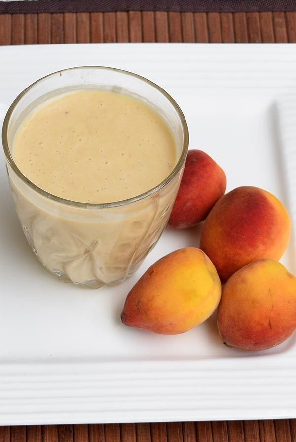 Peach Banana Smoothie. Its a great and filling smoothie to kick start ...