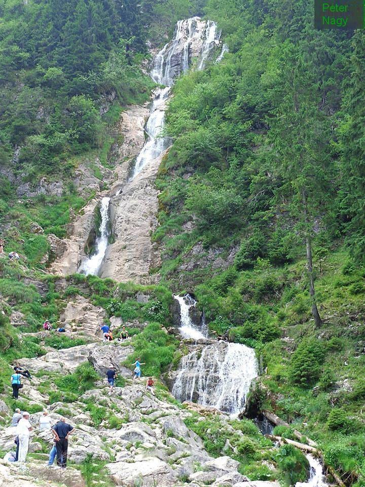 Horses Waterfall - Rodna National Park - Romania  Cascada Cailor - Parcul National Muntii Rodnei  Photo: Peter Nagy