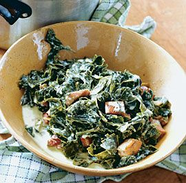 24 best collard greens recipes images on pinterest for Creamy polenta with mushrooms and collards